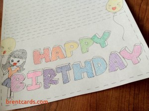 birthday draw card happy drawing drawings veggie luxury getdrawings birthdays diy birthdaybuzz should