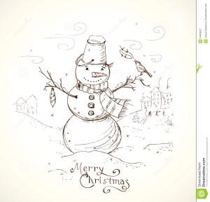 christmas card drawing greeting cards drawn draw xmas merry hand designs pencil background vector lettering drawings easy happy holidays fun