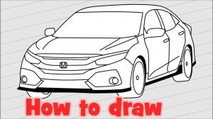 The best free Civic drawing images Download from 41 free drawings of Civic at GetDrawings