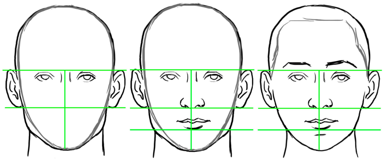 Human Head Drawing At Getdrawings