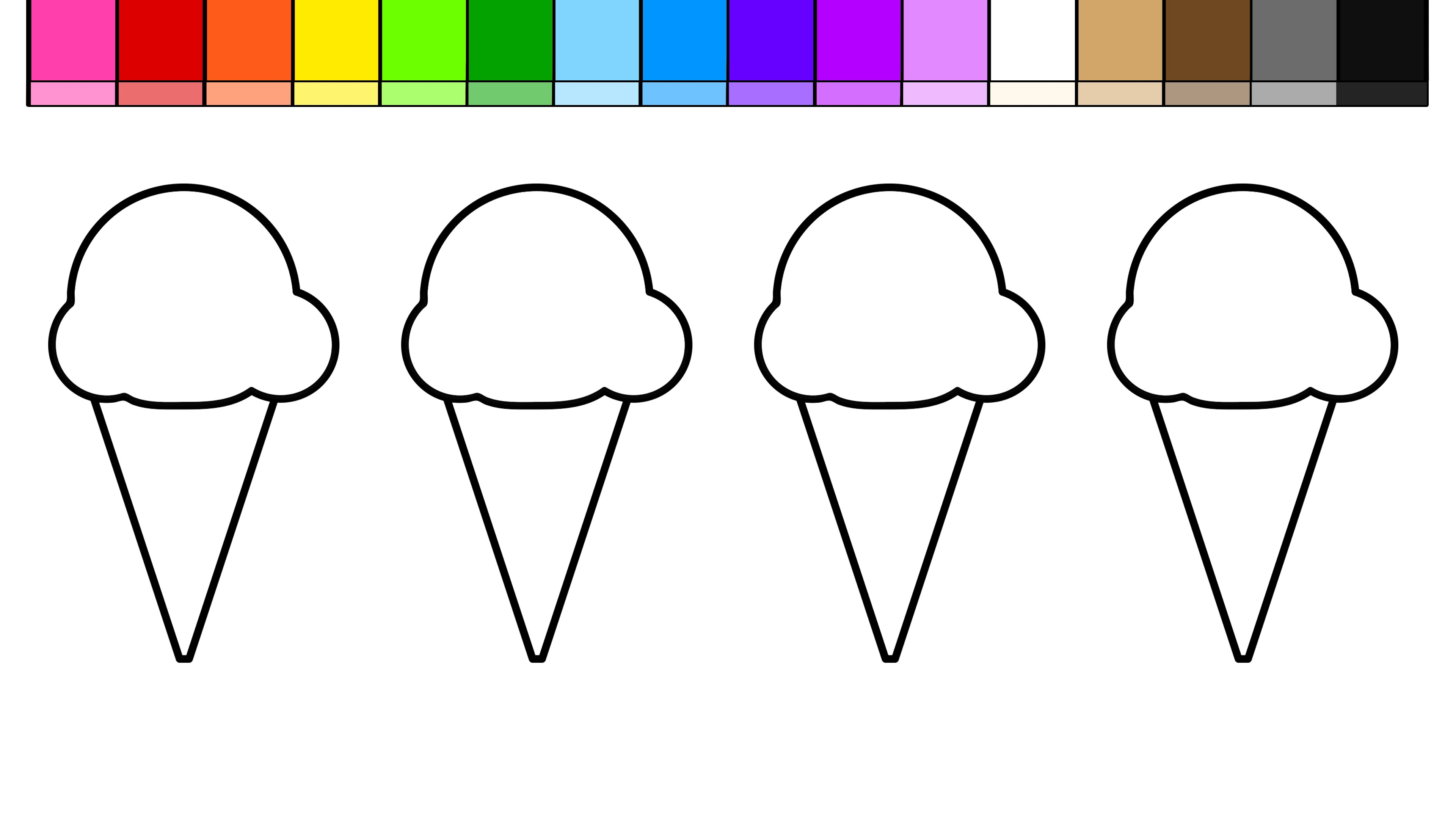 Ice Cream Drawing For Kids At Getdrawings