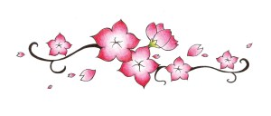 drawing flower cherry blossom sakura japanese flowers drawings blossoms easy stippling getdrawings related jiun fui drawn library clipart without