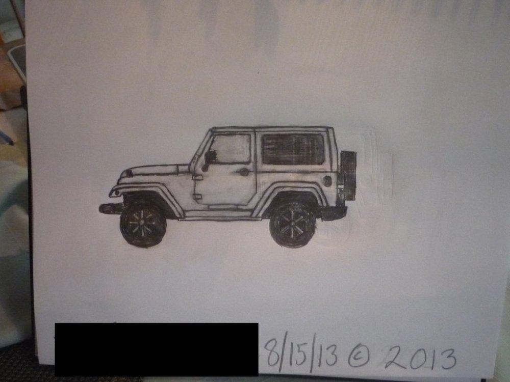 medium resolution of 1024x768 sketch 2011 jeep wrangler sahara 2 door by masterpeace23