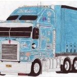 Kenworth Drawing At Getdrawings Free Download