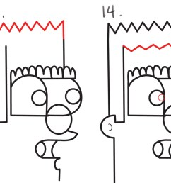 2000x793 how to draw a cartoon man from lowercase letter n in easy steps [ 2000 x 793 Pixel ]