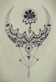 mandala tattoo drawing
