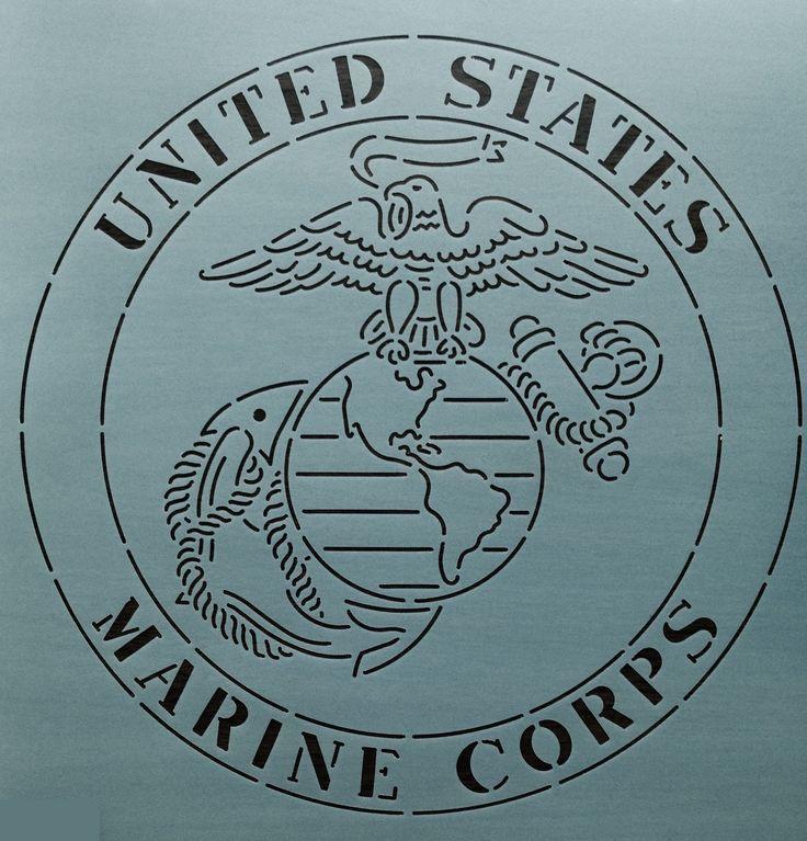marine corps emblem drawing at getdrawings  free download