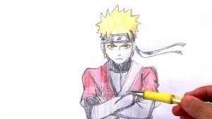 easy drawing naruto kakashi draw anime drawings getdrawings paintingvalley