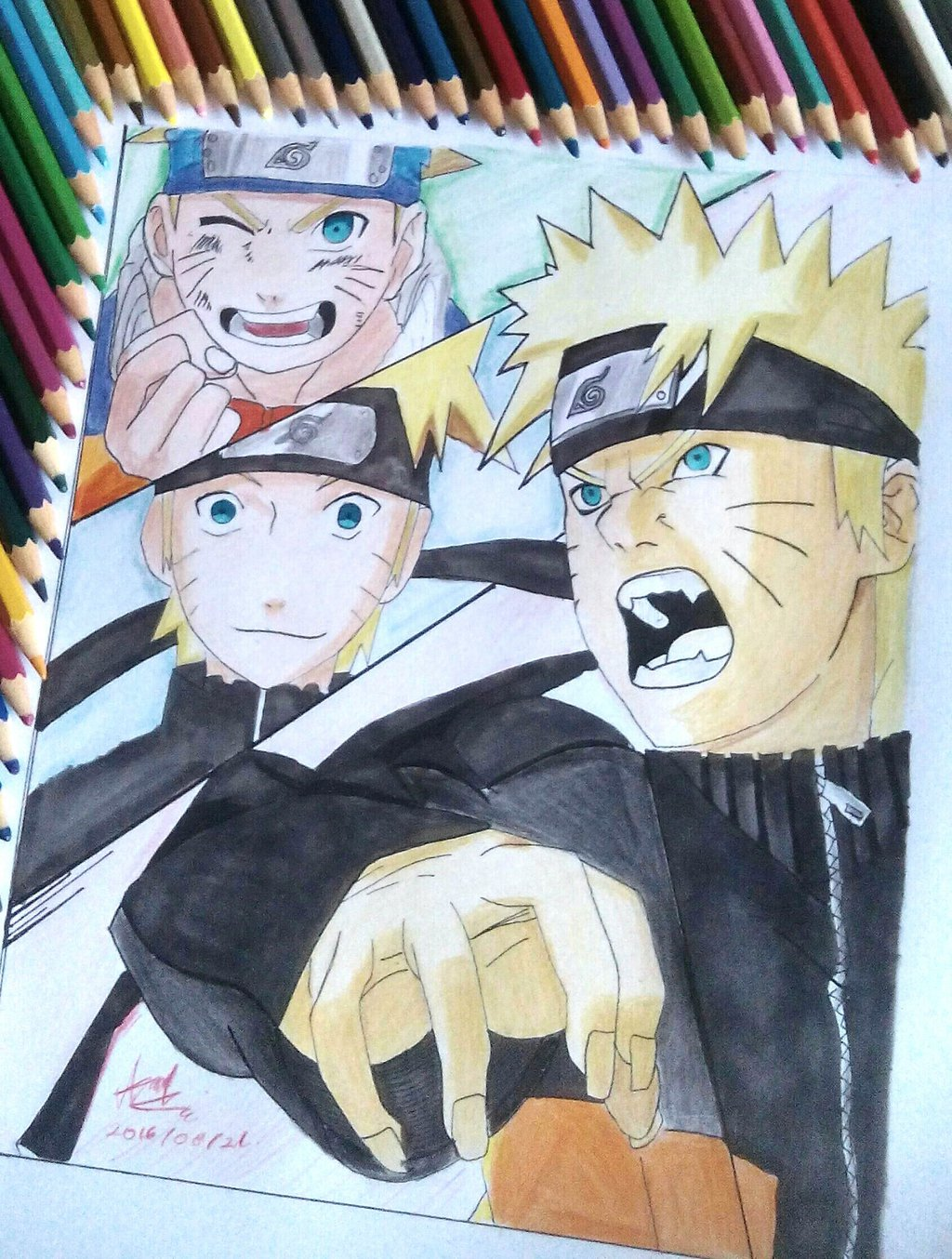Drawing Anime Naruto Shippuden Creative Ideas