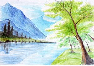 Simple Drawings Nature