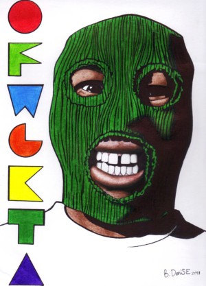 odd future drawing at