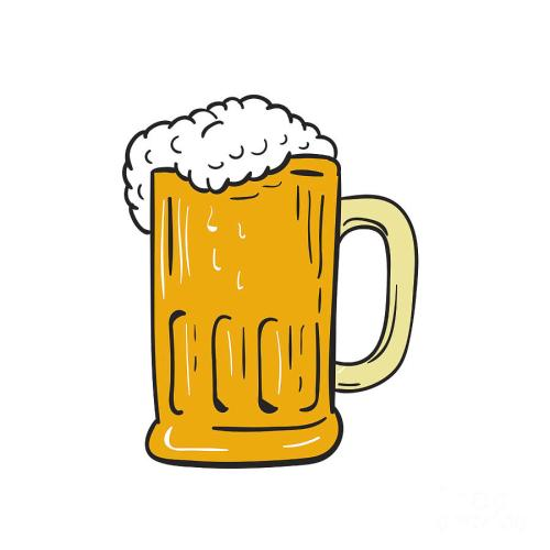 small resolution of 900x900 beer mug drawing digital art by aloysius patrimonio
