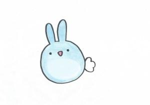 bunny rabbit drawing easy drawings bunnies draw cartoon sketch adorable getdrawings paintingvalley