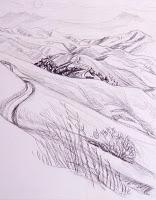 Rolling Hills Drawing : rolling, hills, drawing, Rolling, Hills, Drawing, GetDrawings, Download
