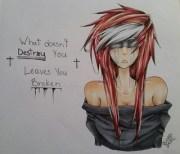 sad emo drawing