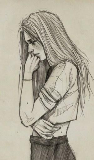 sad drawing draw