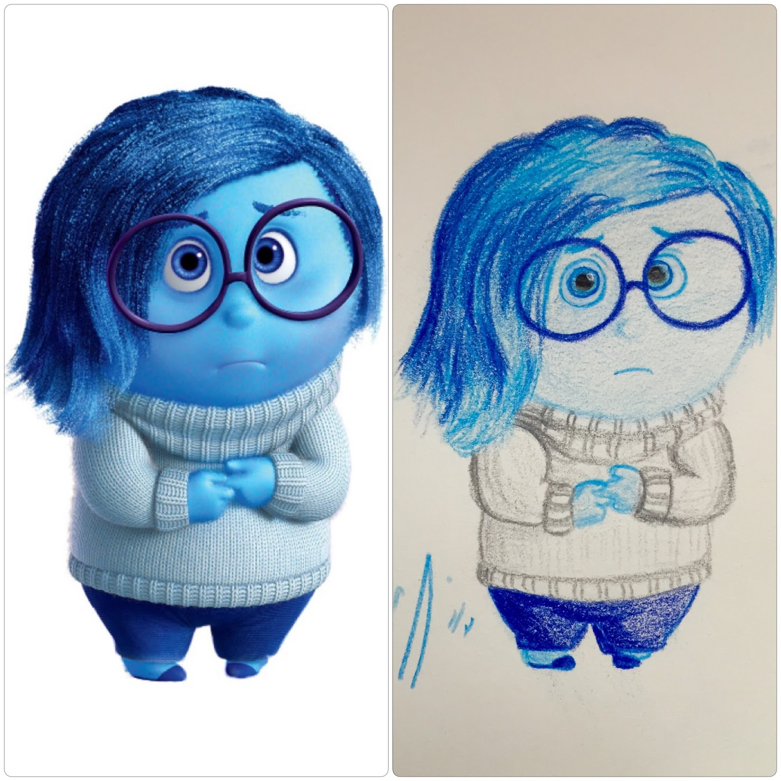 Sadness Inside Out Drawing At Getdrawings