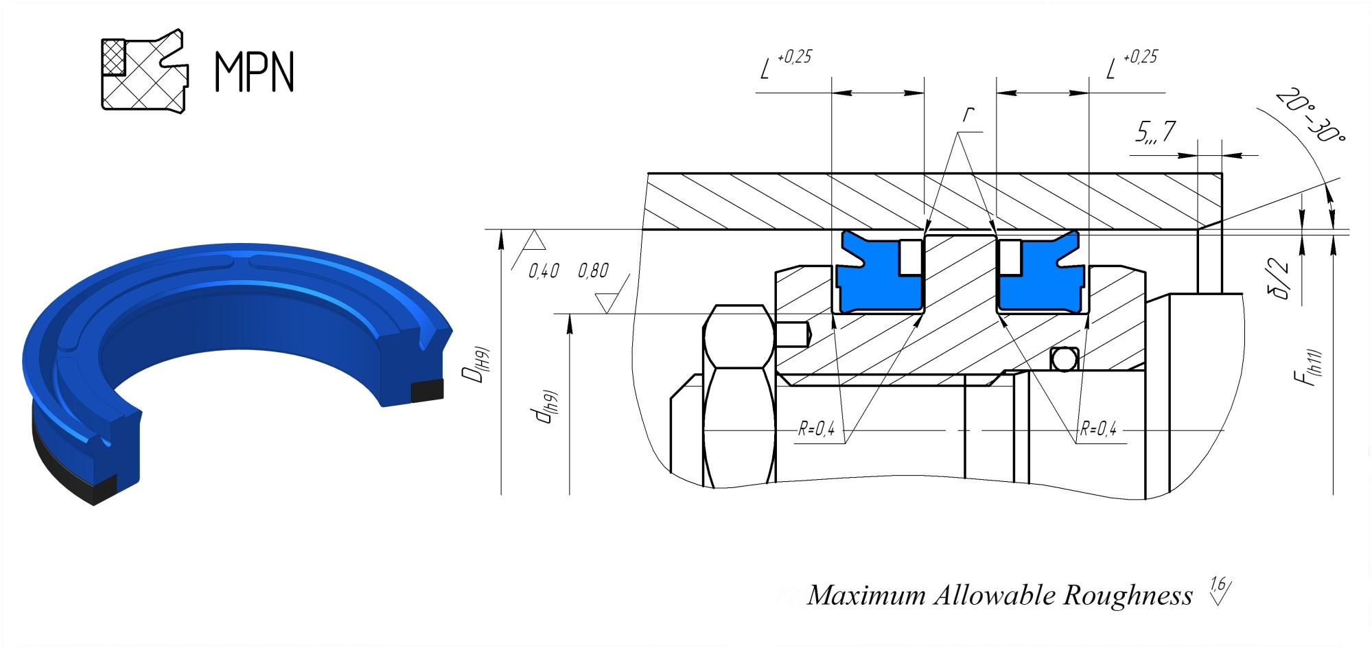 hight resolution of 4030x1904 piston seals mpn