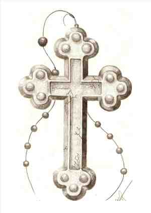 drawing cross rosary draw drawings simple designs getdrawings rosaries catholic box discover