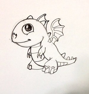 dragon easy drawing draw simple chinese fire dragonvale drawings dragons spee getdrawings coloring basic beginners open pages