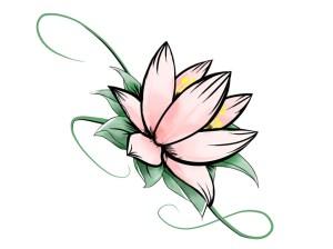 flower drawing simple pattern draw designs paper getdrawings