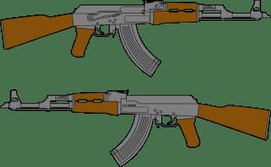 gun simple drawing clip getdrawings