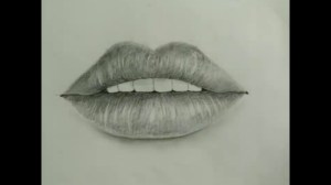 lips realistic simple easy lip drawing sketch draw beginners amazing sketches getdrawings paintingvalley