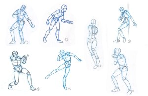 drawing basic human shape simple figure basics shapes drawings construction lines practice using excercise getdrawings sullivan sean ksean possibilities endless