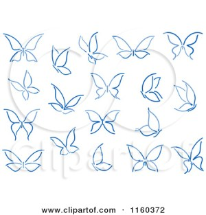 butterfly butterflies simple drawing tattoo drawings clipart navy vector easy sketch illustration royalty seamartini illustrations graphics tradition sm wrist google