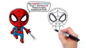 spider drawing draw easy marvel getdrawings