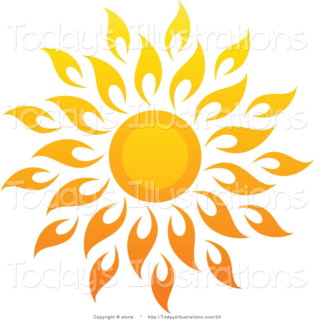 hight resolution of 1024x1044 sun art vector clipart of a bright summer sun with petal rays 1