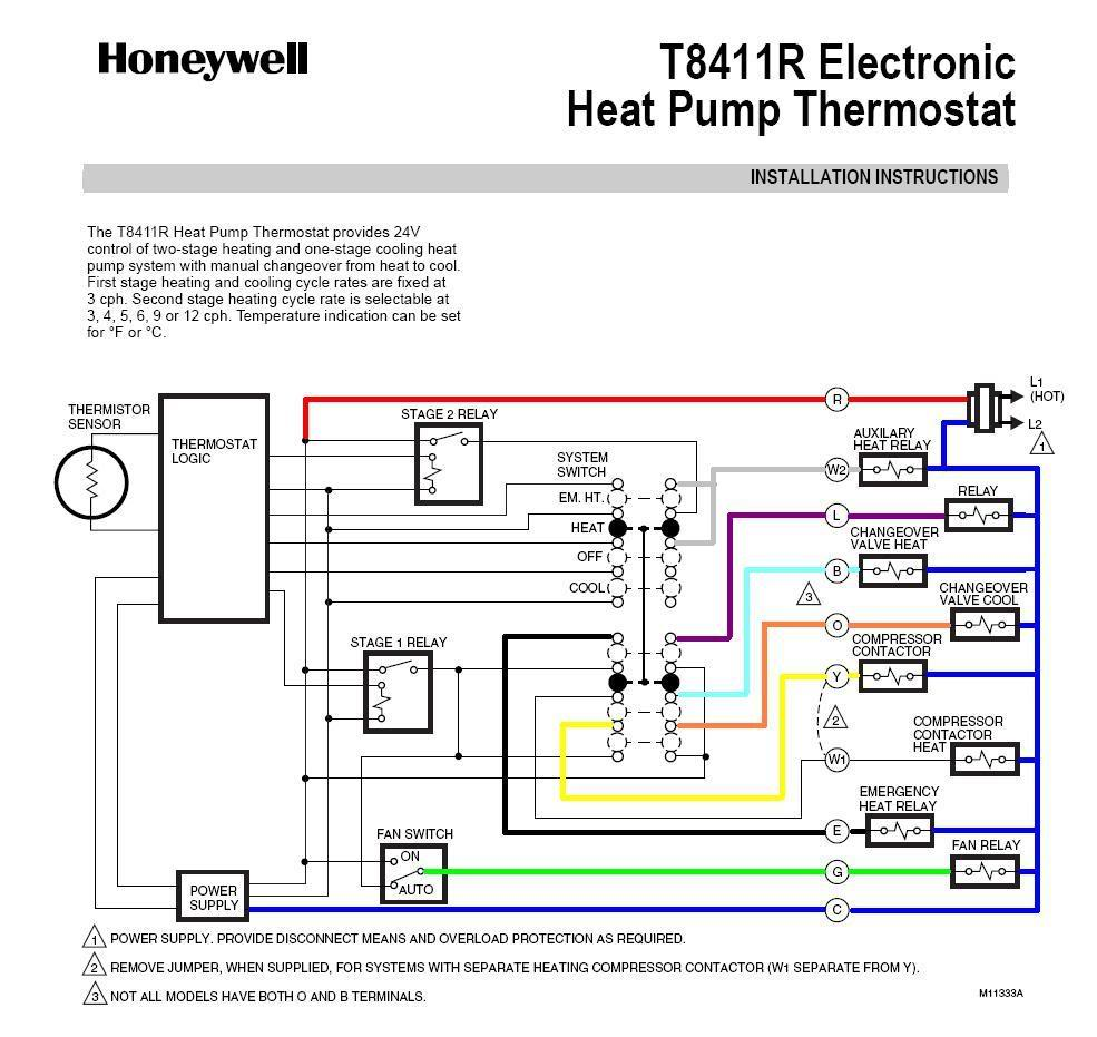 hight resolution of 985x931 honeywell heat pump thermostat wiring diagram