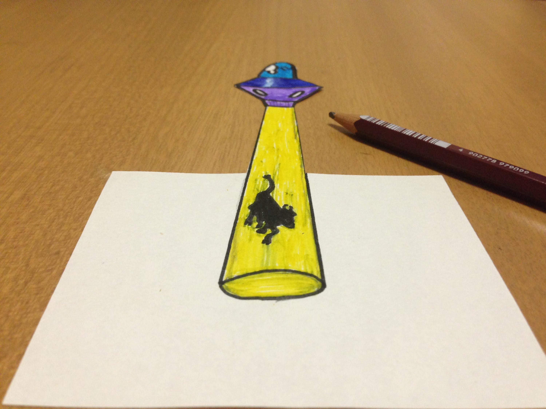 Ufo Drawing At Getdrawings
