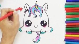 unicorn easy draw drawing getdrawings