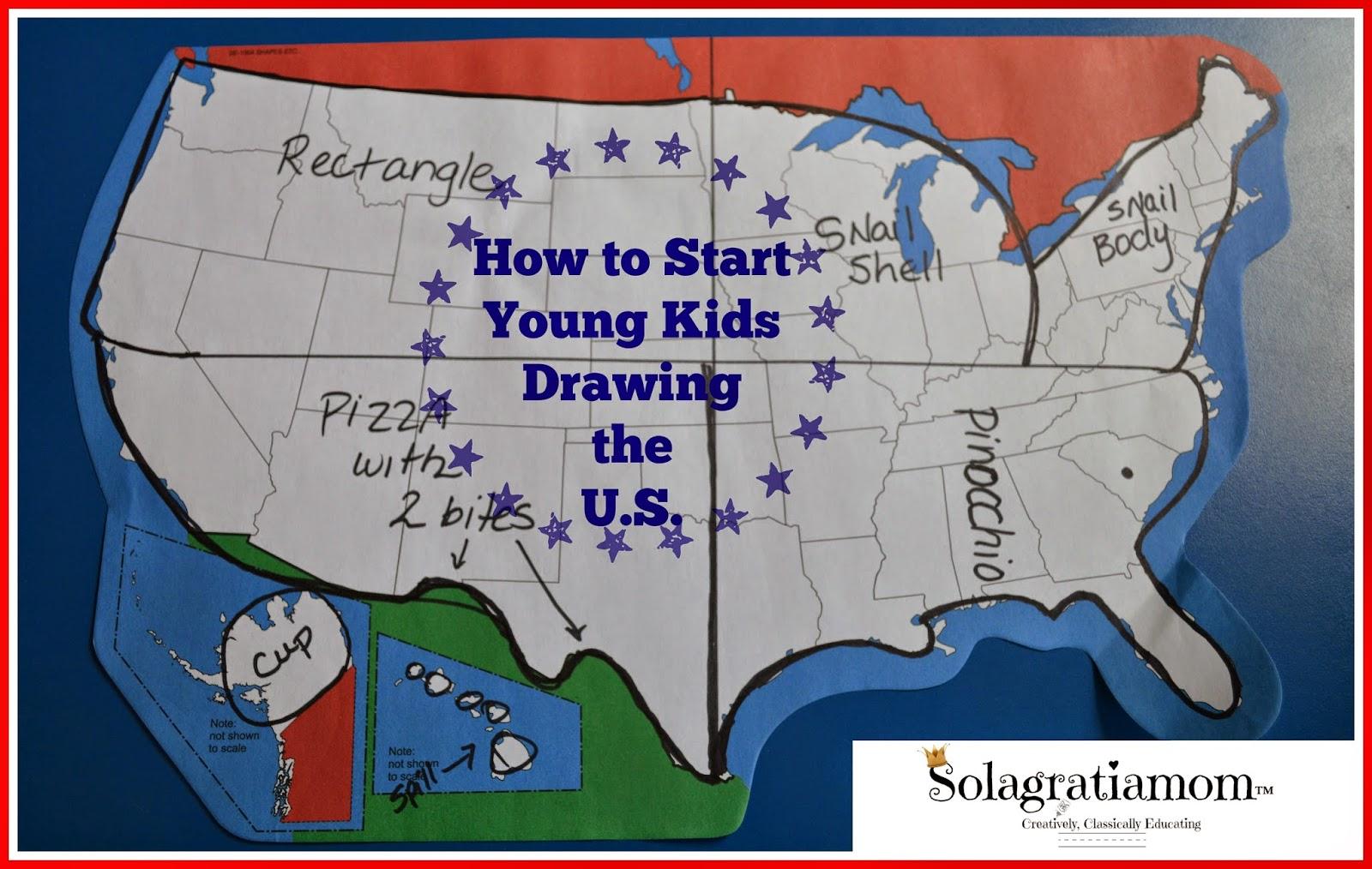 Usa Drawing Map At Getdrawings