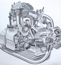 1200x1029 engine drawings bambrick studio [ 1200 x 1029 Pixel ]