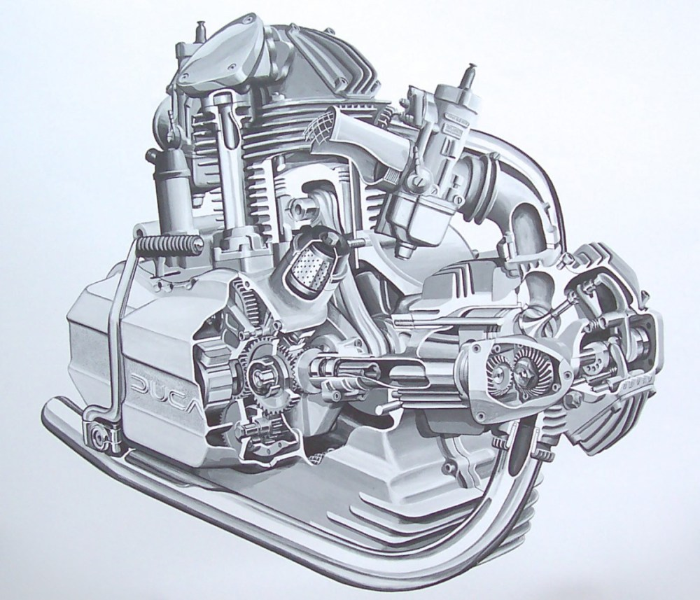medium resolution of 1200x1029 engine drawings bambrick studio