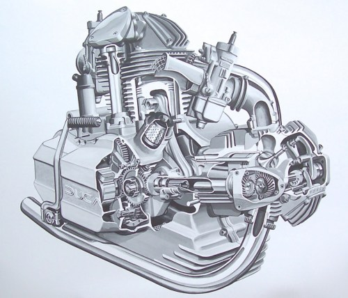 small resolution of 1200x1029 engine drawings bambrick studio