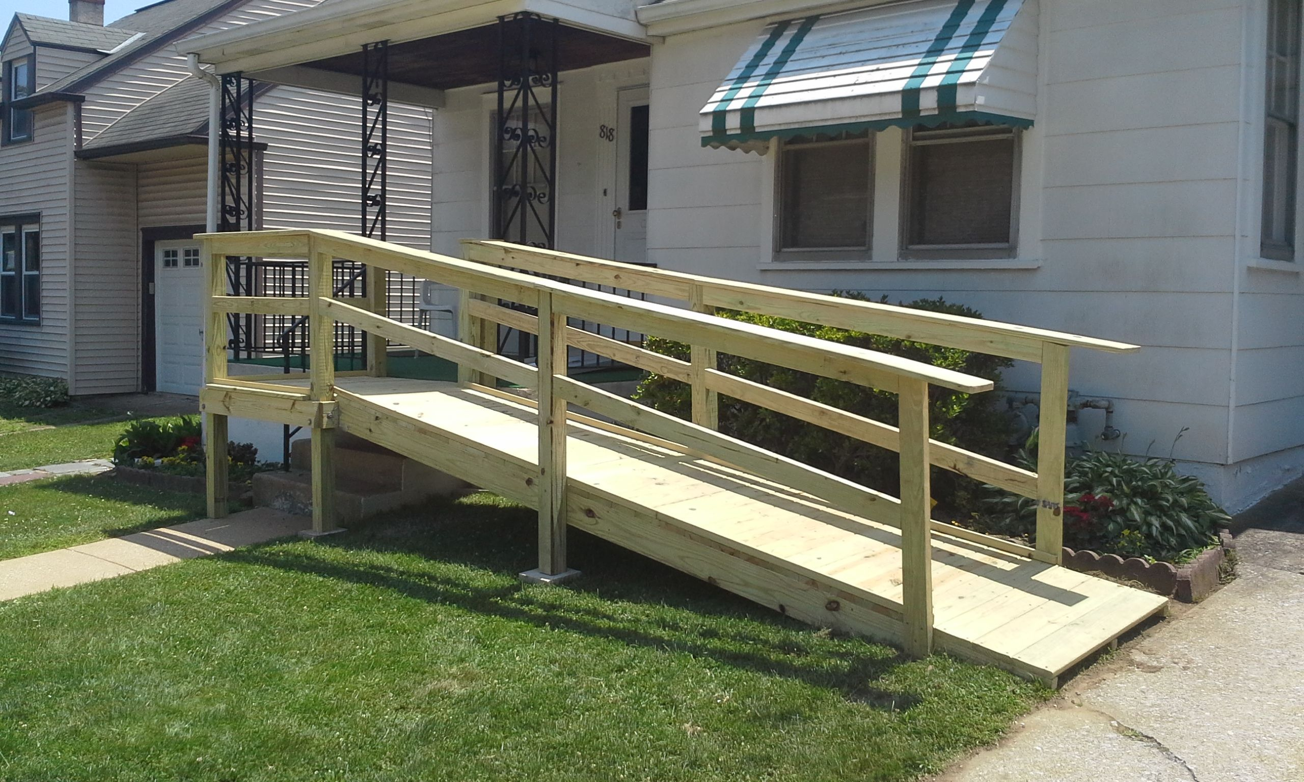 wheelchair housing design guide antique high back chairs ramp drawing at getdrawings free for