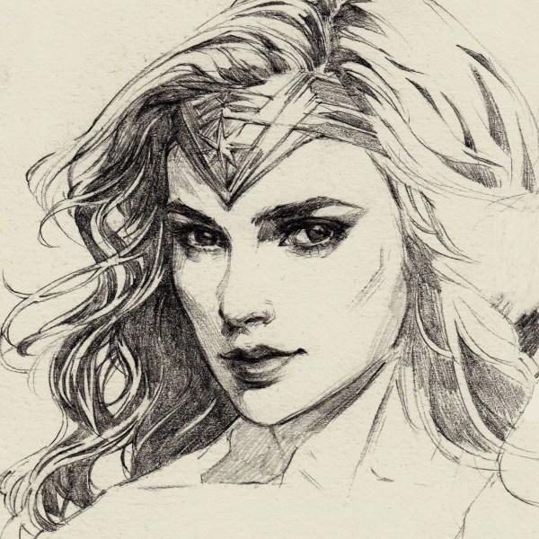 Woman Drawing Free