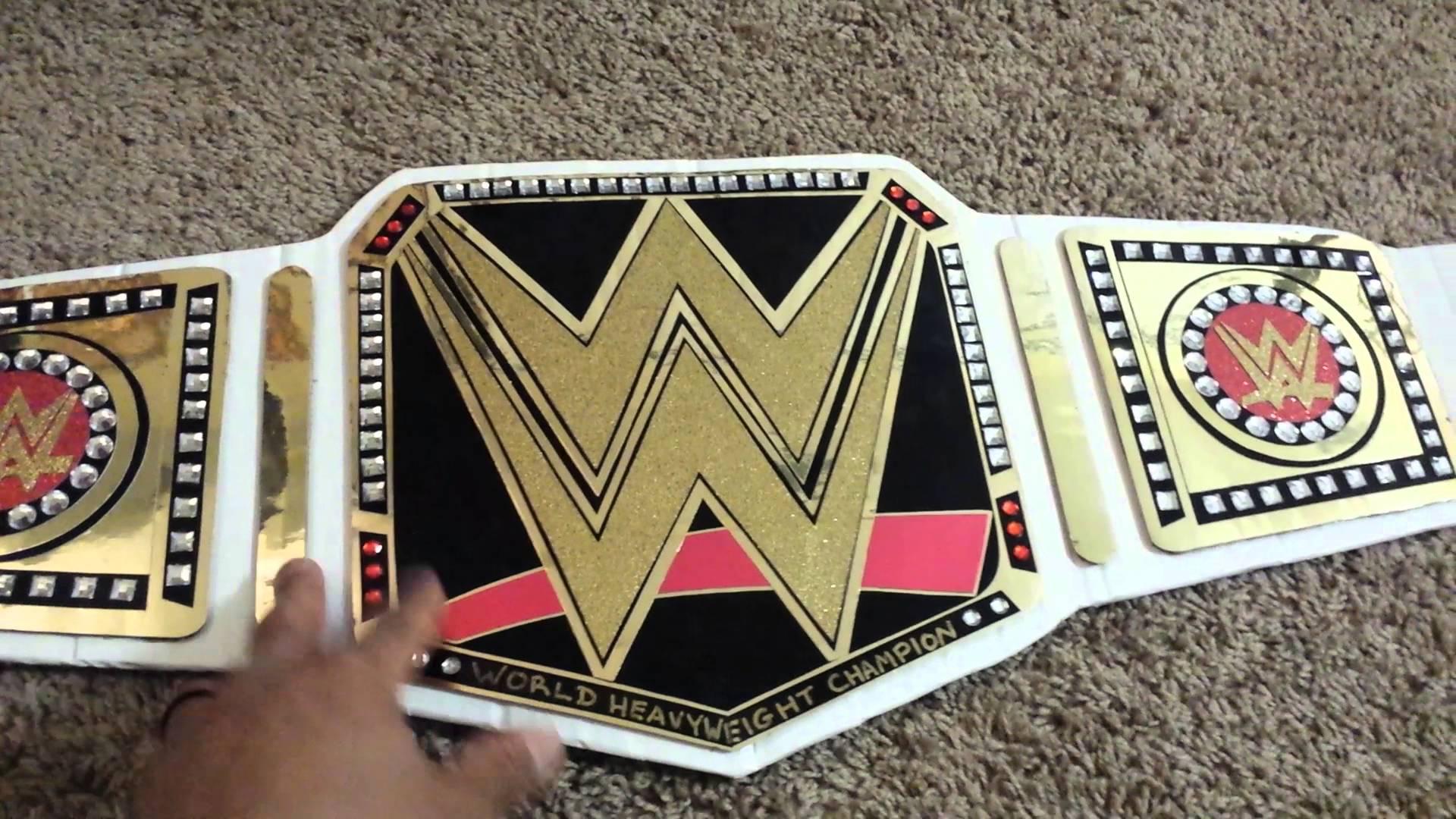 Printable Wrestling Belt Template Tutore