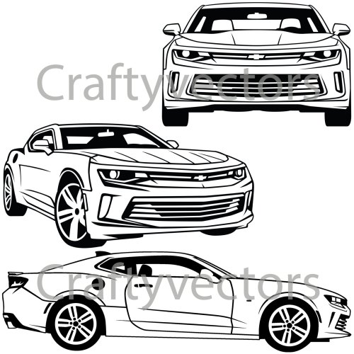 small resolution of 1500x1500 chevrolet camaro 2016 vector svg cut file