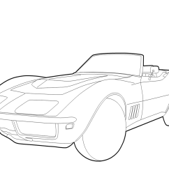 1236x1032 chevrolet corvette coloring page free printable coloring pages [ 1236 x 1032 Pixel ]