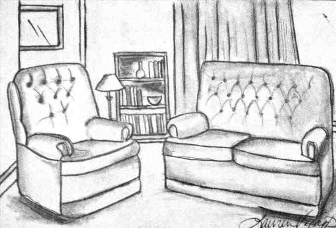 Bedroom Sketch Leancy Stock
