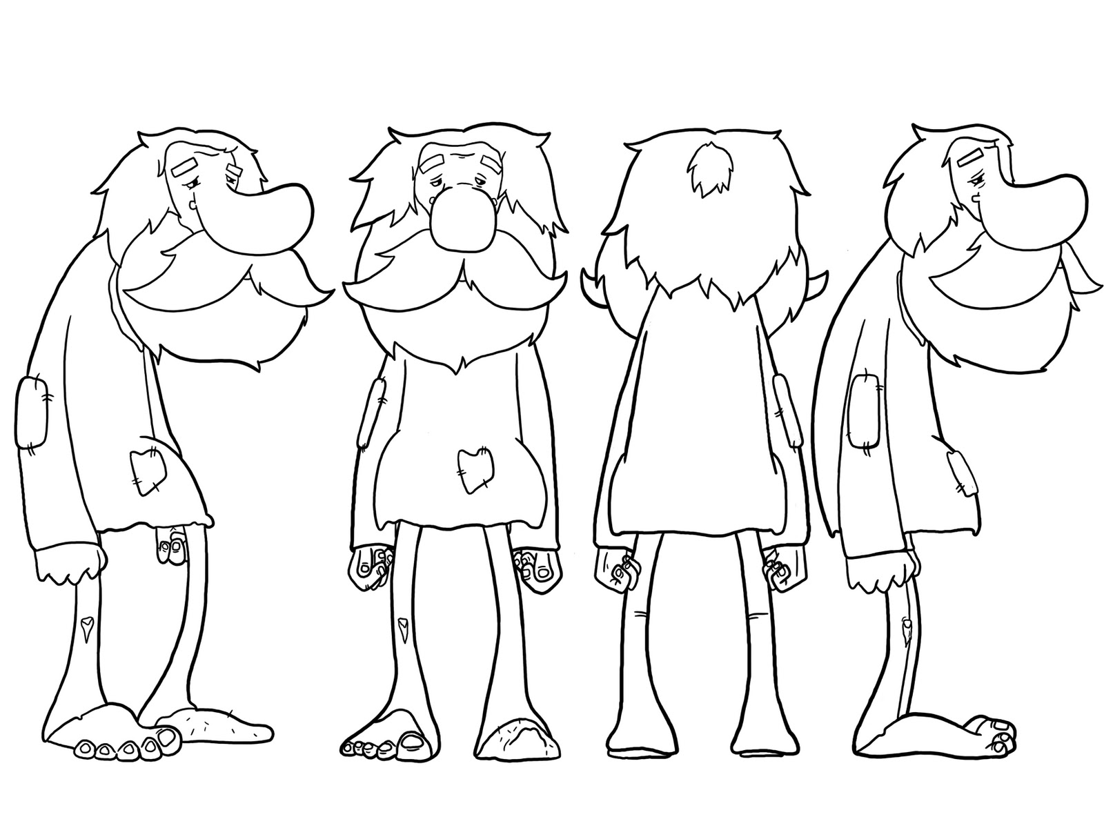 3d Cartoon Drawing At Getdrawings