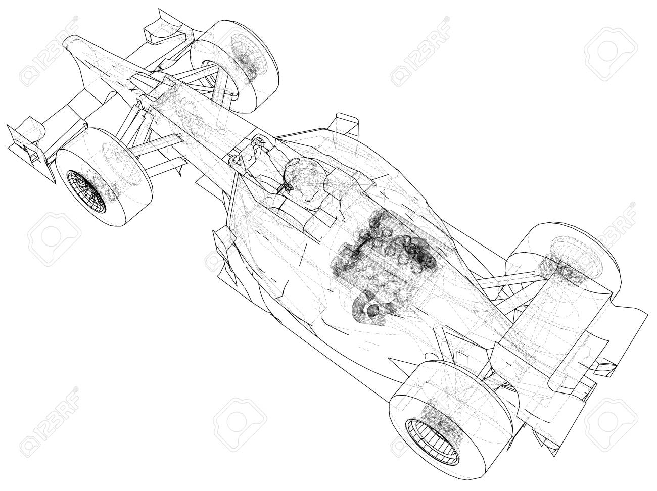 3d drawing of a car at getdrawings free for personal use 3d