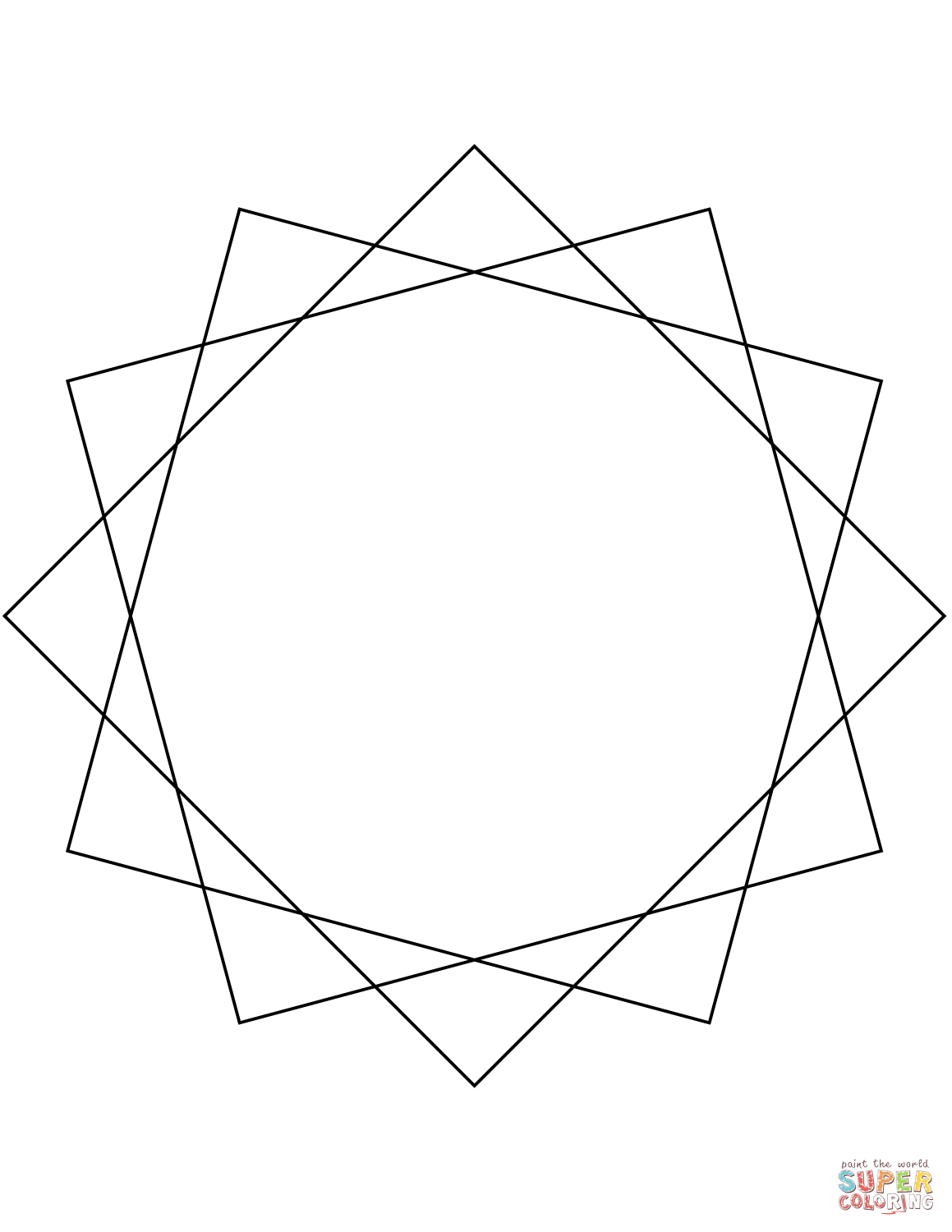 5 Point Star Drawing At Getdrawings