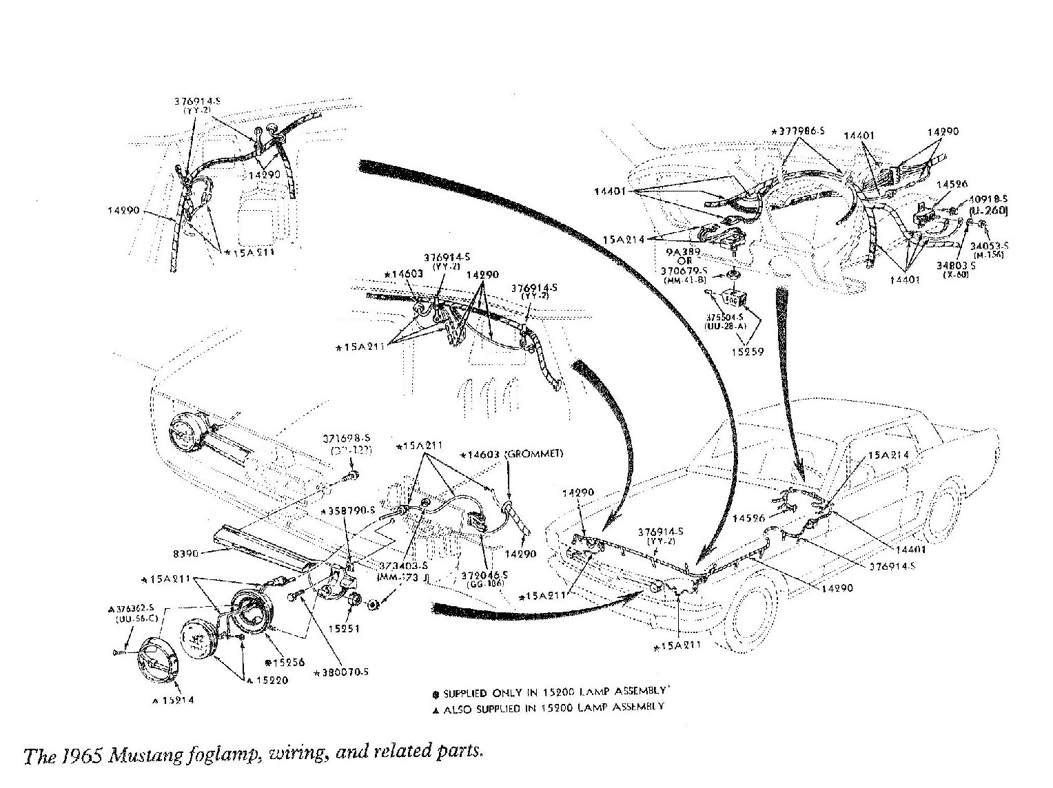 [WRG-2077] 1970 Ford Mustang Steering Column Wiring Diagram