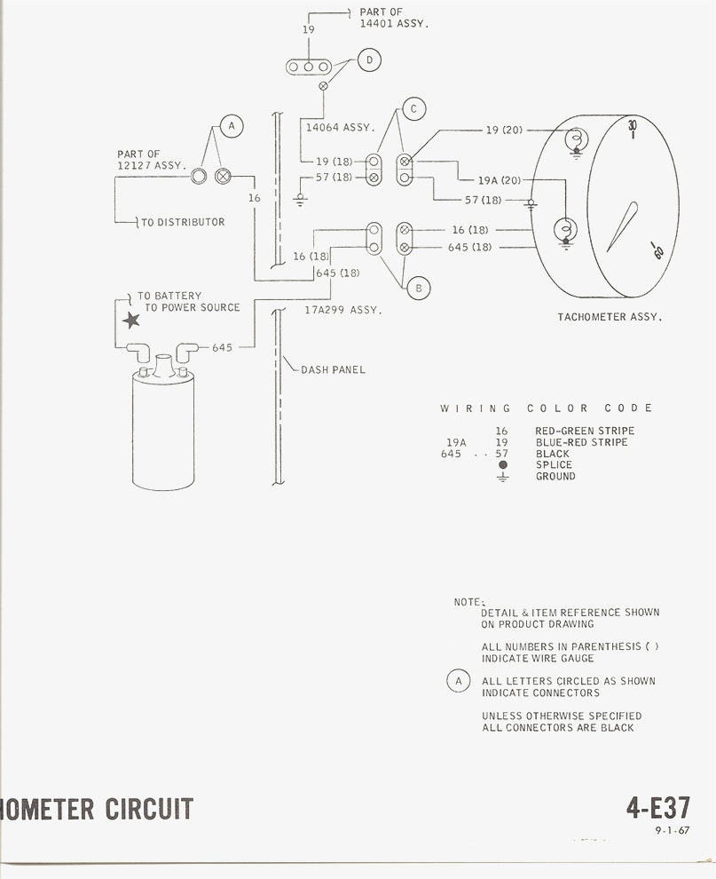 67 mustang drawing at getdrawings free for personal use 67 starter relay diagram saab tach wiring diagram