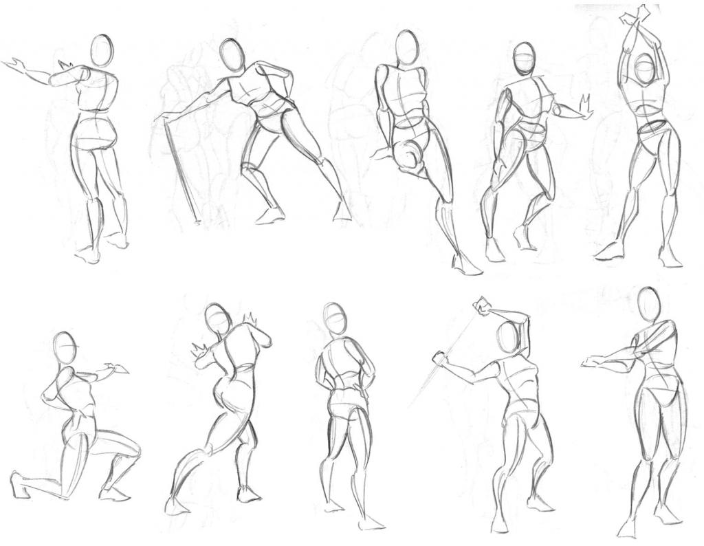 Action Drawing At Getdrawings